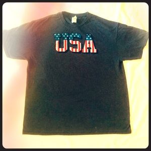 🔴🇺🇸 USA soft t-shirt ready for the XL